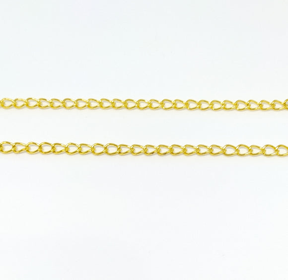 Gold (Extension Style) Chain - Beading Amazing