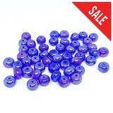 Royal Blue Rondelle - Beading Amazing
