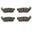 Volar Front & Rear Brake Pads for 1995-2003 Triumph Thunderbird