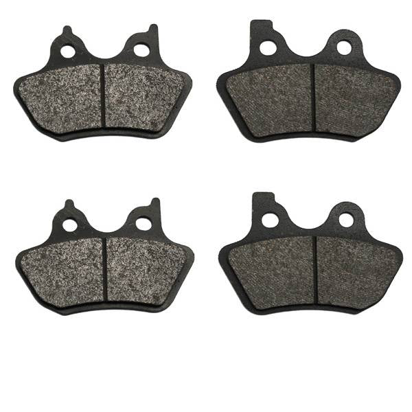 Volar Front & Rear Brake Pads for 2005-2007 Harley Softail Deluxe FLSTN