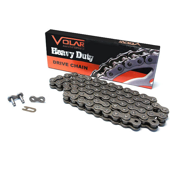Volar Heavy Duty Non Oring Chain for 1986-1987 Honda ATC125 ATC125M