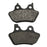 Volar Rear Brake Pads for 2006 Harley Heritage Softail FLST FLSTI