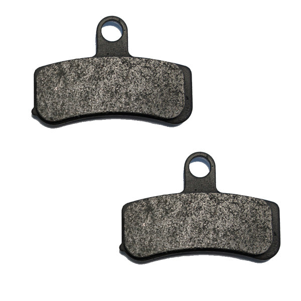 Volar Front /& Rear Brake Pads for 1972-1984 Harley Dyna Series FL FLH