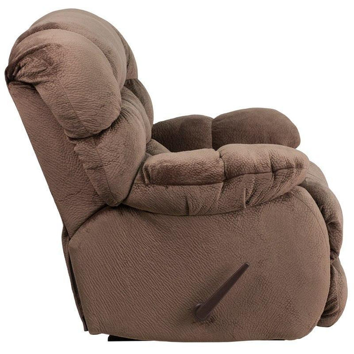 Flash Furniture AM-9460-5983-GG Contemporary Sharpei Espresso Microfiber Rocker Recliner