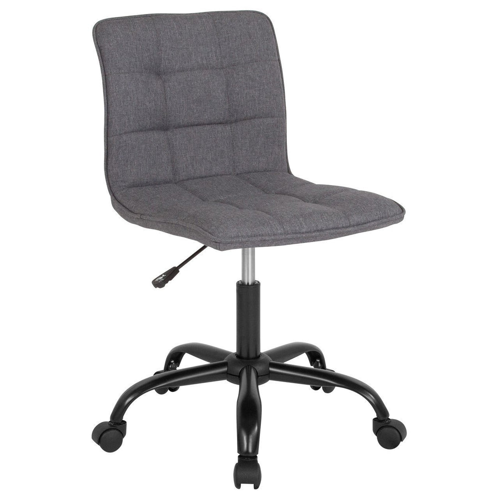 Sorrento Home and Office Task Chair in Dark Gray Fabric DS-512C-DGY-F-GG by Flash Furniture