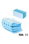 3-Layer Disposable Surgical Masks (50 Masks per Box)
