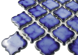 Glass tiles and mosaics