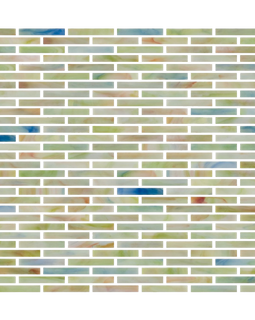 Susan Jablon Mosaics 14 Inch Glass Subway Tile