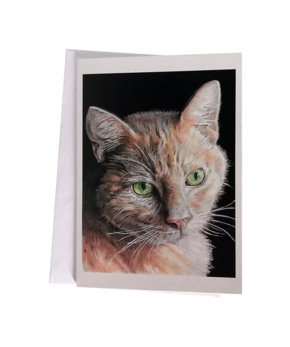 'Stanley, the Tabby Cat' Greetings Card