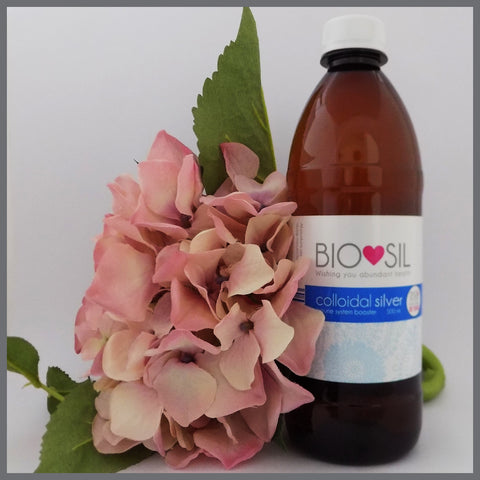 Colloidal Silver (500ml) - Bio-Sil South Africa - Wishing you abundant healthLiquidsBio-Sil - 1