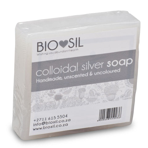 Soap - Natural - Bio-Sil South Africa - Wishing you abundant health