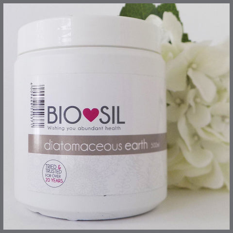Diatomaceous Earth - organic, food grade  (500ml) - Bio-Sil South Africa - Wishing you abundant healthPowderBio-Sil - 1