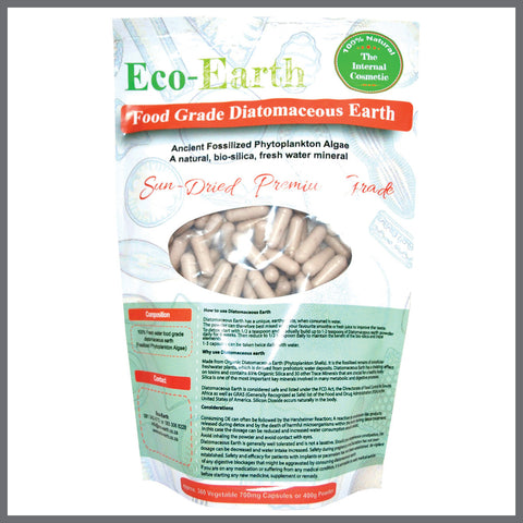 Diatomaceous Earth 360 capsules