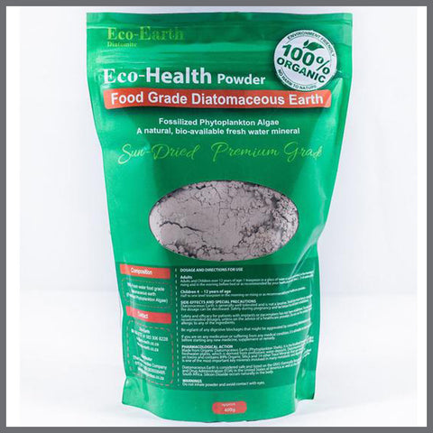 Diatomaceous Earth : Eco-Health Powder (400g)
