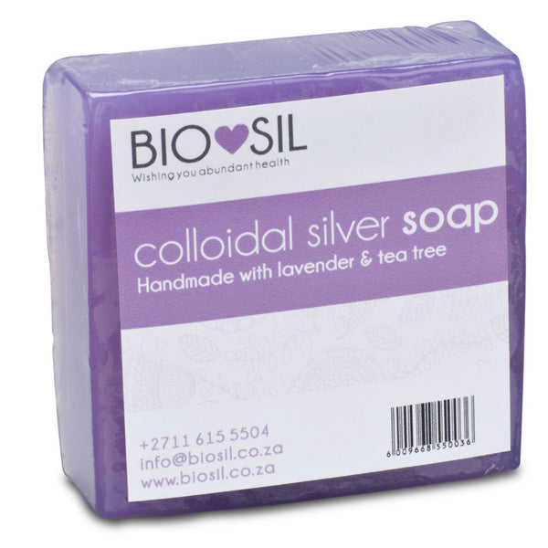 Soap - Lavender (colloidal silver glycerine soap) - Bio-Sil South Africa - Wishing you abundant health