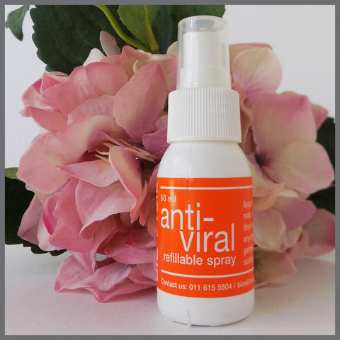 Colloidal Silver Anti-bacterial Spray (50ml) - Bio-Sil South Africa - Wishing you abundant healthLiquidsBio-Sil - 1