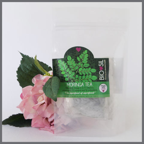 Moringa Tea Bags (20) - Bio-Sil South Africa - Wishing you abundant healthTeaMoringa World - 1