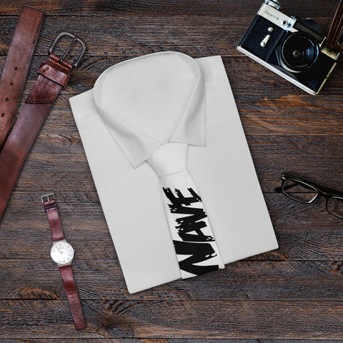 White Black Collection HEATWave Necktie
