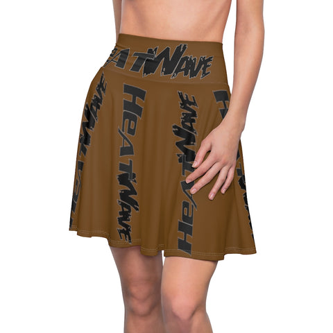 Chocolate Black Collection HEATWave Women's Skater Skirt