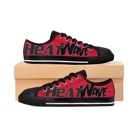 Fire Red Black Collection HEATWave Women's Sneakers