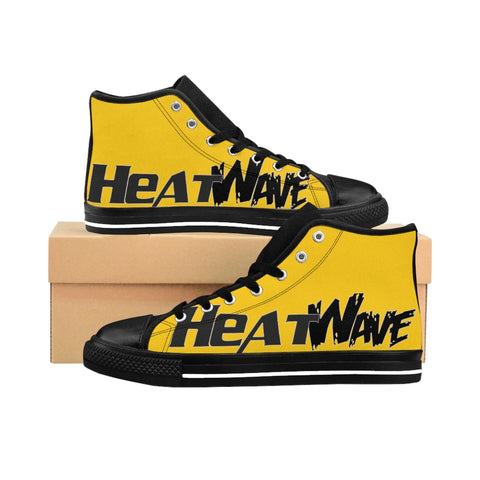 Gold Black Collection HEATWave Women's High-top Sneakers