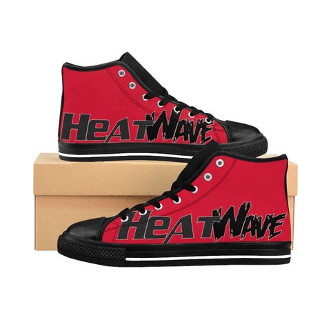 Hot Red Black Collection HEATWave Women's High-top Sneakers