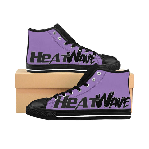 Lavender Black  Collection Men's High-top Sneakers