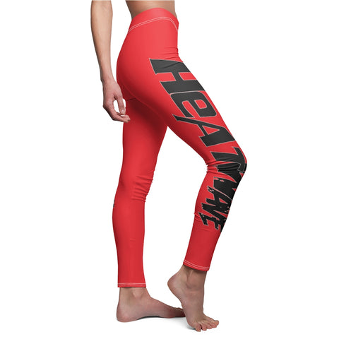 Red Black Collection HEATWave Women's Cut & Sew Casual Leggings