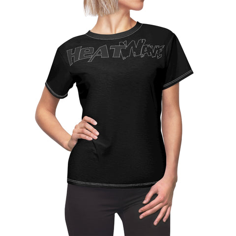 Black Black Collection HEATWave Women's AOP Cut & Sew Tee