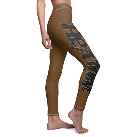 Chocolate Black Collection HEATWave Women's Cut & Sew Casual Leggings