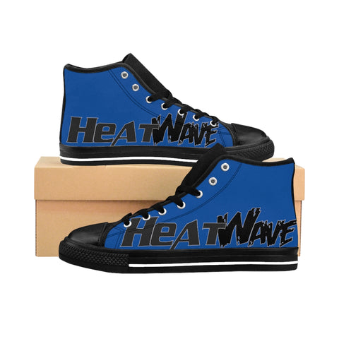 Blue Black  Collection Men's High-top Sneakers