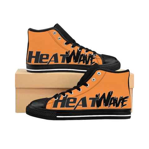 Orange Black Collection HEATWave Women's High-top Sneakers