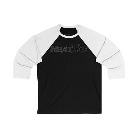 Black Collection Unisex 3/4 Sleeve Baseball Tee