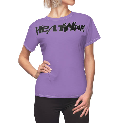 Lavender Black Collection HEATWave Women's AOP Cut & Sew Tee
