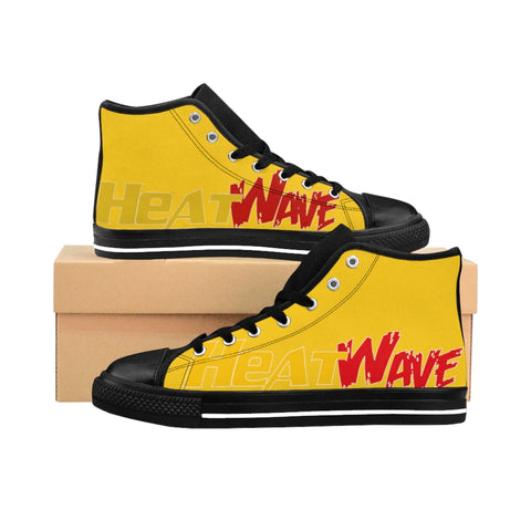 Gold Red & Gold Collection Men's High-top Sneakers