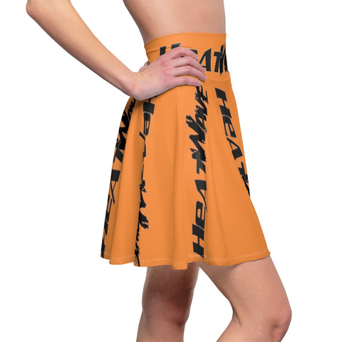 Orange Black Collection HEATWave Women's Skater Skirt