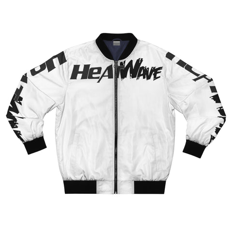 White Black Collection HEATWave Men's AOP Bomber Jacket