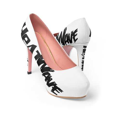 White Black Collection HEATWave Women's Platform Heels