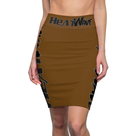 Chocolate Black Collection Women's Pencil Skirt