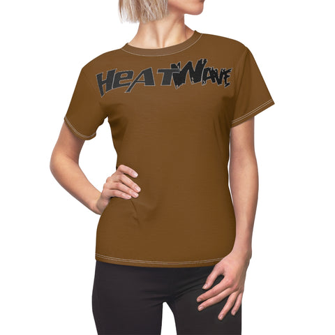 Chocolate Black Collection HEATWave Women's AOP Cut & Sew Tee
