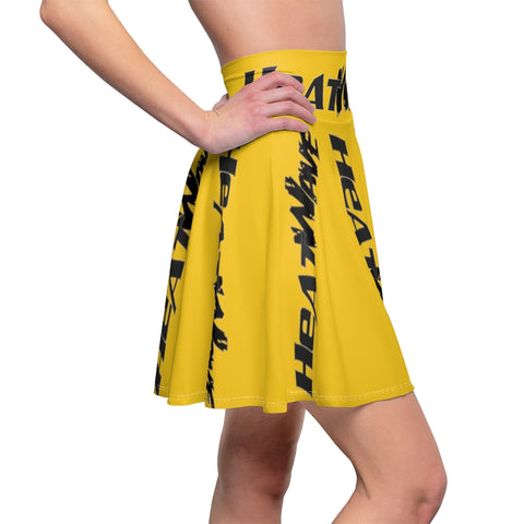 Gold Black Collection HEATWave Women's Skater Skirt