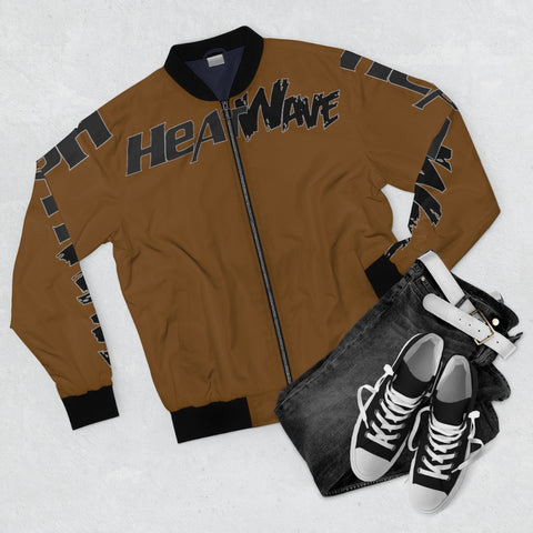 Chocolate Black Collection HEATWave Men's AOP Bomber Jacket