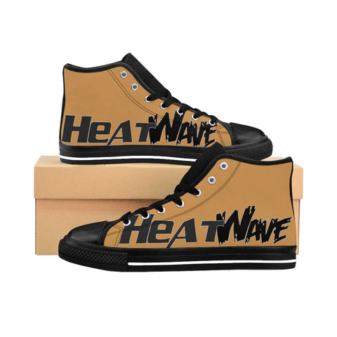 Tan Black Collection HEATWave Women's High-top Sneakers