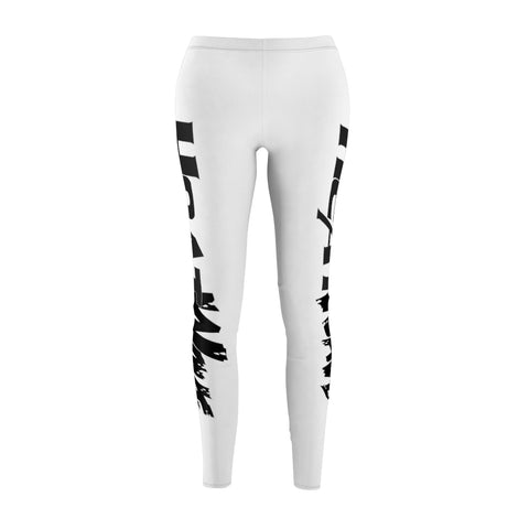 White Black Collection HEATWave Women's Cut & Sew Casual Leggings