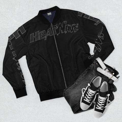 Black Black Collection HEATWave Men's AOP Bomber Jacket