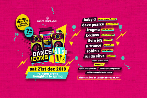 Dance Icons 90's and 00's Ticket