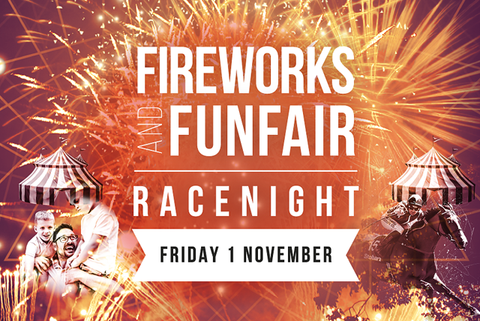 Fireworks and Funfair Race Night Ticket