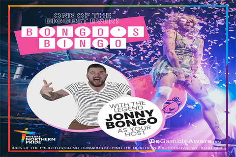 'Huge Bongos Bingo' Ticket with Two Grand Prize Draw Entries