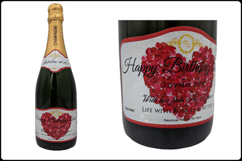Personalised Champagne - Special Occasion