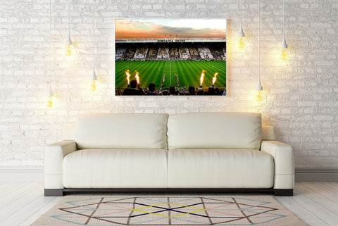 Football Stadium Canvas